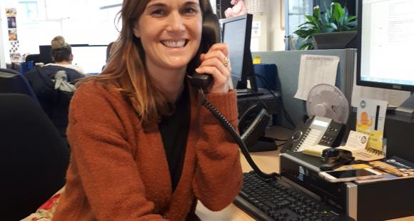 A Day on the Lullaby Trust Helpline