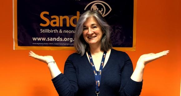 Jen Coates, Director of Bereavement Support and Volunteering at Sands,