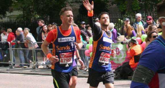 #TeamSands London Marathon