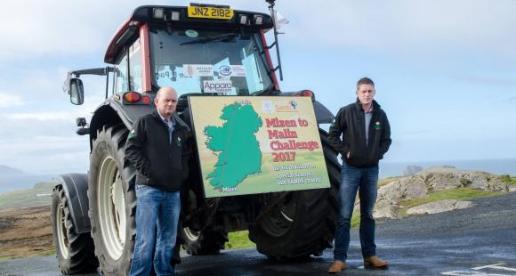 Northern Ireland, stillbirth, charity, sands, fundraising, support, mizen, malin, tractor