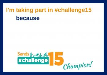 #challenge15, because