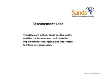 Bereavement Lead Role