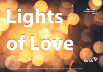 Lights of love 2020 order of service cover picture