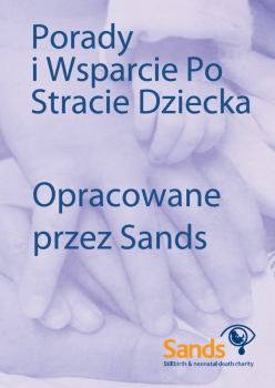 Sands bereavement support book in Polish