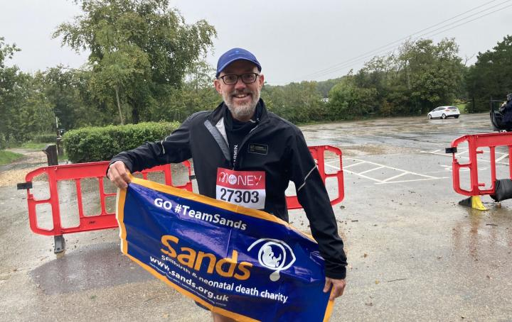 #TeamSands runner Marc