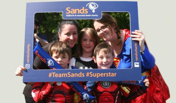 Volunteer or fundraise for Sands